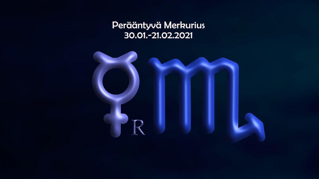 Perääntyvä Merkurius 30.01.2021